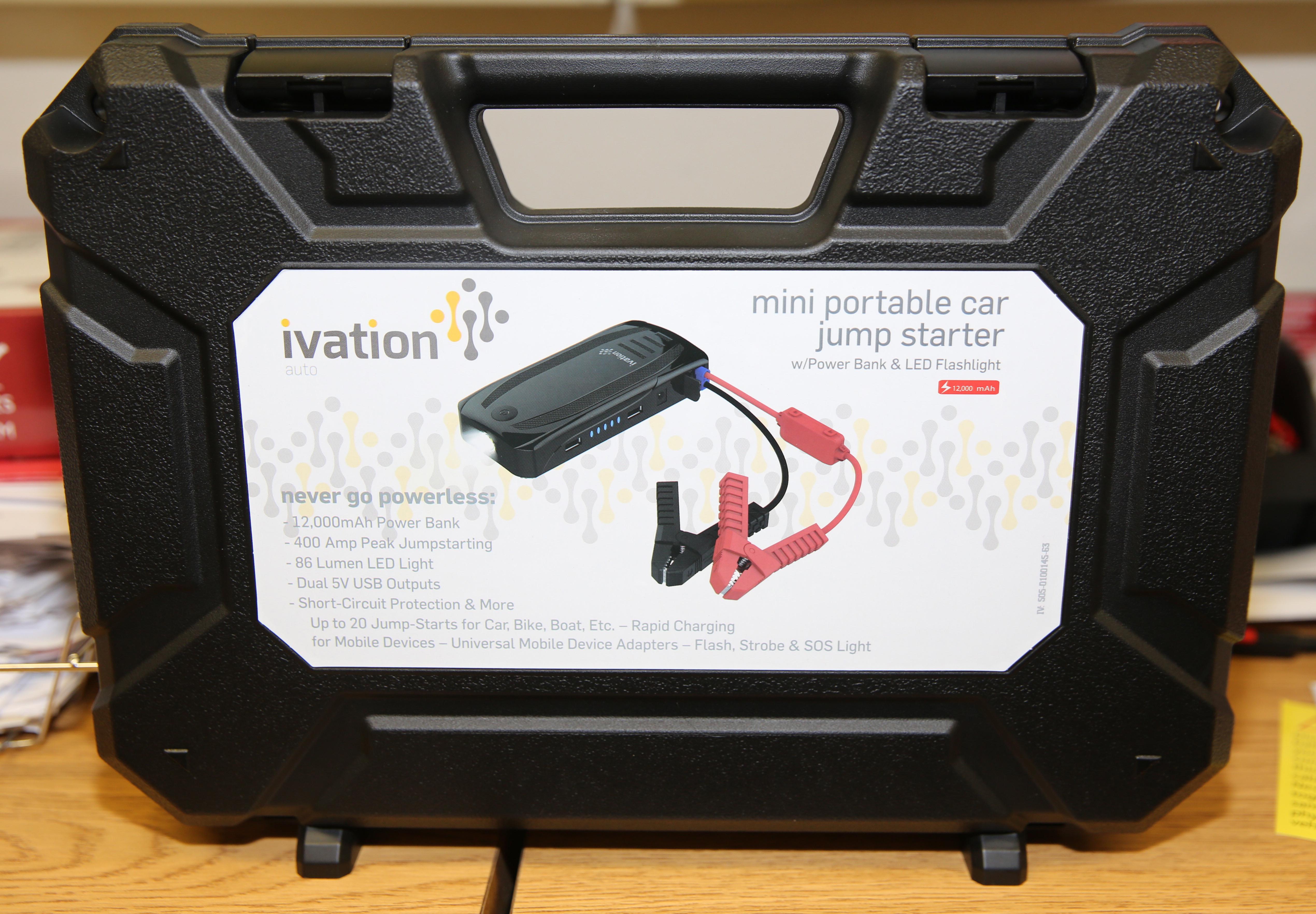 Ivation Mini Portable Car Jump Starter Power Bank Mooserve Reviews